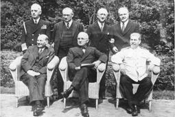 Potsdamer Konferenz, Gruppenbild, Quelle: Bundesarchiv, Bilddatenbank